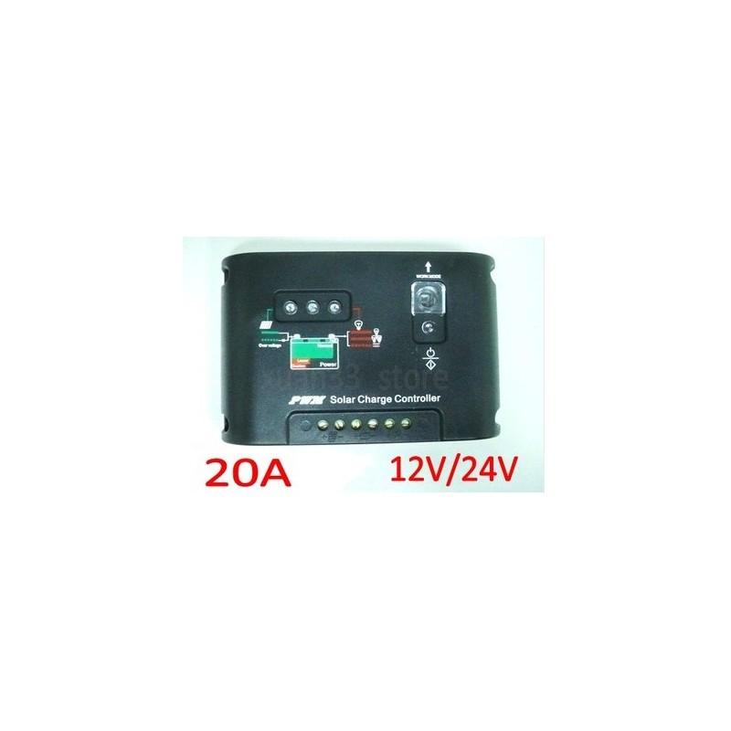 Régulateur de Charge Panneau Solaire 20A - NEUF