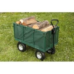 Chariot remorque jardin -...